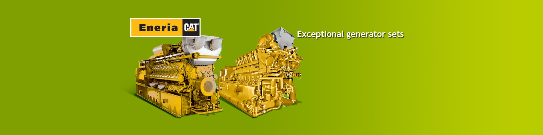 We offer a complete line of gas generator sets adapted for any type of gas with outputs from 60 kWe to 4,500 kWe.