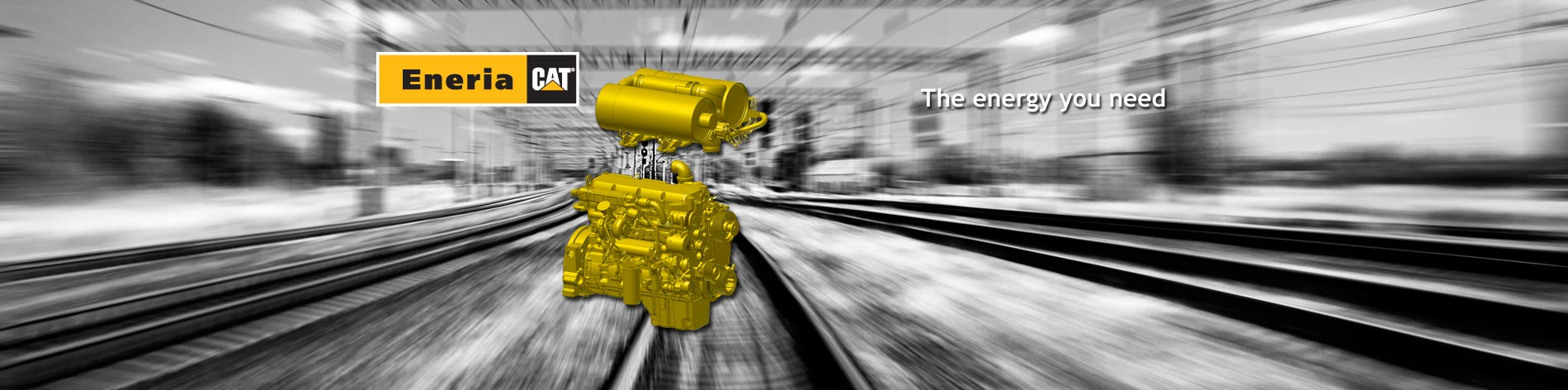We offer you a wide range of Caterpillar diesel engines in many different versions designed for industrial or railway applications.