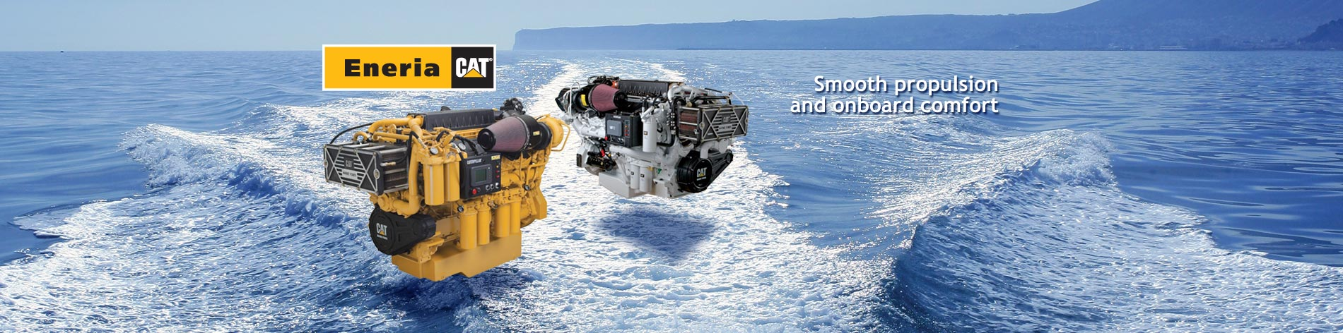 With a wide range of Caterpillar marine diesel engines, we offer the best technology, and provide the solution best suited to your project as well as impeccable post-sales service.