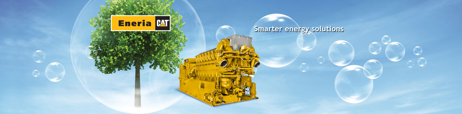 Whether gas or biogas, from 60 kWe to 4,500 kWe we install Caterpillar generator sets that meet your heating, cooling or power needs.