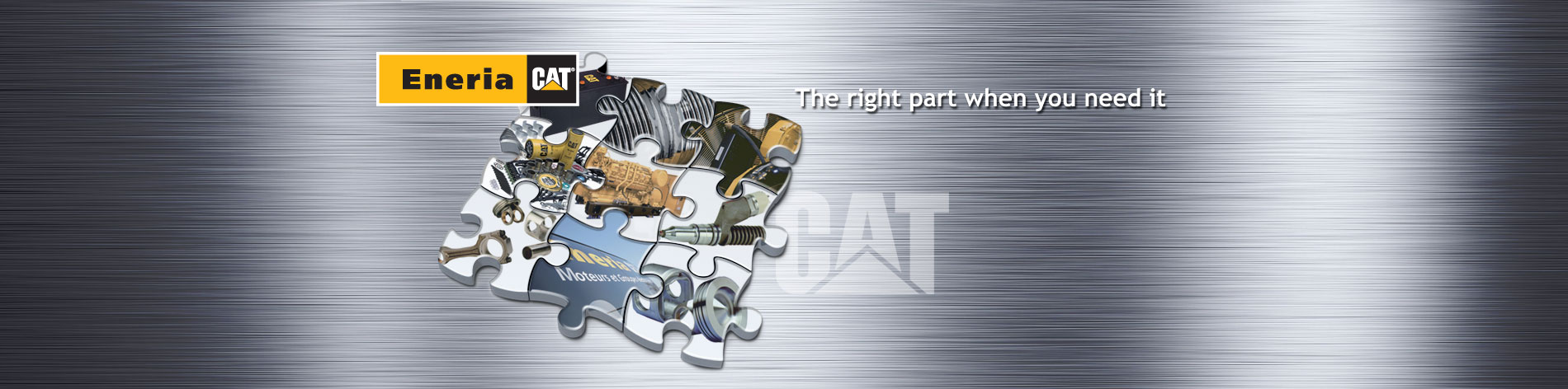 Whatever your business or application, we guarantee availability and fast delivery of your spare parts.